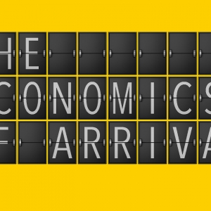 The Economics of Arrival book cover