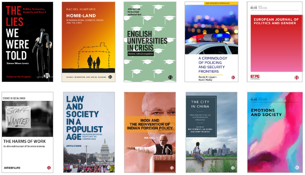 selected titles from Bristol UniversityPress
