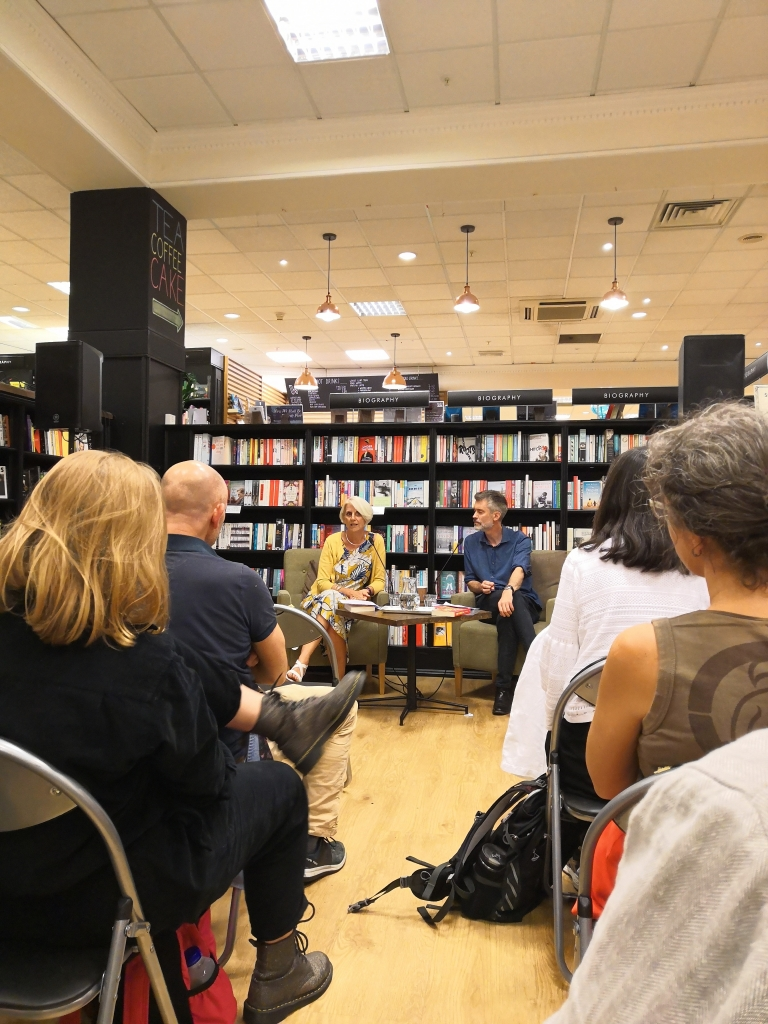 Waterstone's launch of 'The End of Aspiration' by Duncan Exley