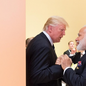 Photo of Donald Trump and Narendra Modi