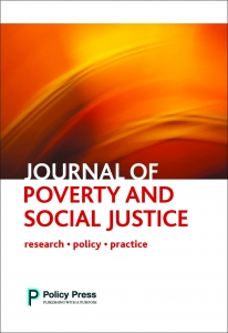 Cover of the 'Journal of Poverty and Social Justice'