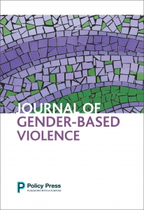 Cover of the 'Journal of Gender-Based Violence'