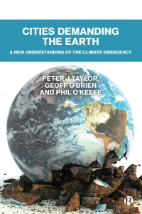Cover of 'Cities demanding the earth'
