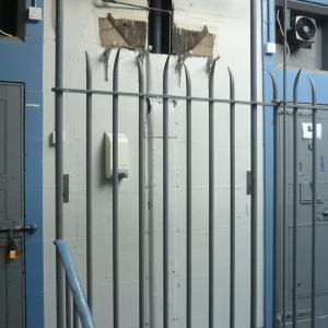 Photo of police custody cells