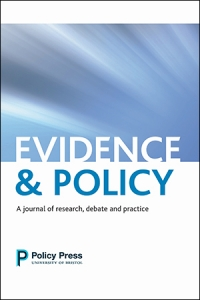 Cover of Evidence & Policy