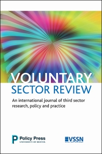 Cover of Voluntary Sector Review