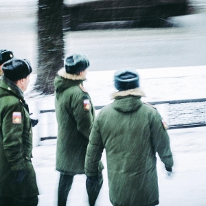Men in snow