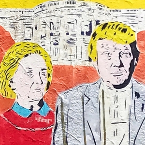 Art of Clinton and Trump