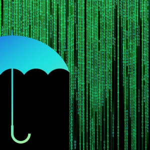 An umbrella blocking binary code