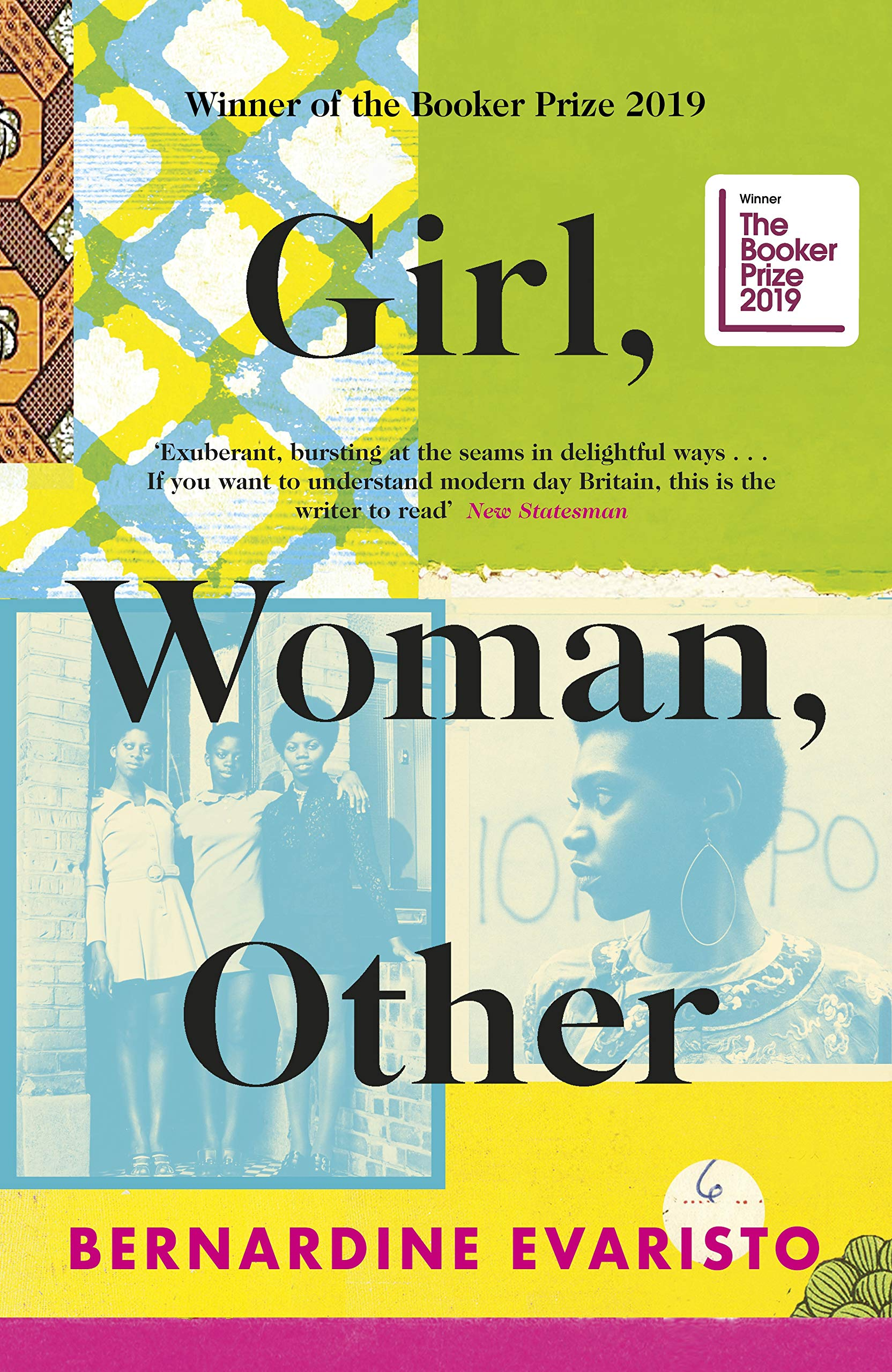 Cover of 'Girl, Woman, Other'