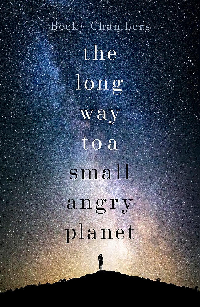 Cover of 'The Long Way to a Small Angry Planet'