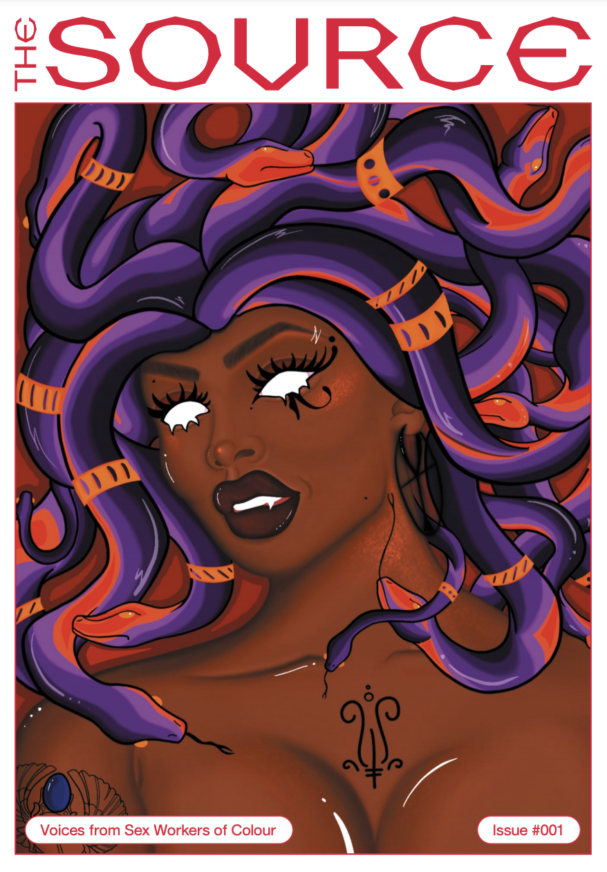 Cover image from The Source. Medusa.
